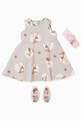 thumbnail of All-Over Bambi Print Dress #1
