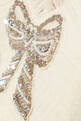 thumbnail of Embellished Bow-Detail Ruffle Gown    #3
