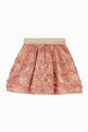 thumbnail of Pleated Floral Brocade Skirt  #1