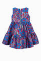 thumbnail of Velvet Bow Floral Jacquard  Dress #1