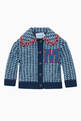 thumbnail of Wool M Applique Boucle Jacket  #0
