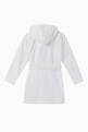 thumbnail of Contrast-Trimmed Foster Hooded Bathrobe #1