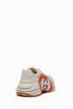 thumbnail of Rhyton GG Heart Leather Sneakers #2