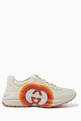 thumbnail of Rhyton GG Heart Leather Sneakers #0