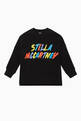 thumbnail of Logo Print Jersey Sweater  #0