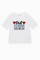 thumbnail of DG Fashion Print Cotton T-Shirt  #0