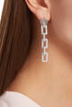 thumbnail of Silver Zipper Single Earring    #1