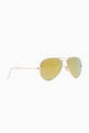 thumbnail of Aviator Flash Lens Sunglasses #1