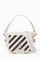 thumbnail of Diagonal Stripe Baby Flap Bag #0
