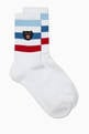 thumbnail of Panther Cotton Sports Socks #0