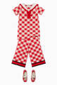 thumbnail of Wool Gingham Collared Dress #1
