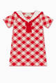 thumbnail of Wool Gingham Collared Dress #0