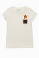 thumbnail of Embroidered Girl Logo T-Shirt #0