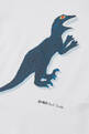 thumbnail of Dinosaur Print Long-Sleeved T-Shirt  #3