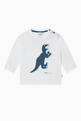 thumbnail of Dinosaur Print Long-Sleeved T-Shirt  #0
