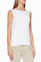 thumbnail of Bead-Embellished Ribbed Sleeveless Top #0