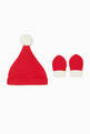 thumbnail of Santa Hat & Mitts Set    #1