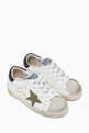 thumbnail of Superstar Distressed-Effect Leather Sneakers #0