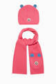 thumbnail of Logo Patch Hat & Scarf Gift Set #0