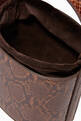 thumbnail of Bissett Snake-Embossed Leather Bucket Bag  #3