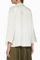 thumbnail of Celine Open Front Silk Blouse #2