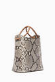 thumbnail of Small Vosges Snake-Print Tote Bag  #2