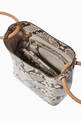 thumbnail of Small Vosges Snake-Print Tote Bag  #3