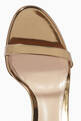 thumbnail of Annabelle 105 Metallic Leather Sandals   #3
