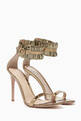thumbnail of Annabelle 105 Metallic Leather Sandals   #4