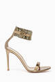 thumbnail of Annabelle 105 Metallic Leather Sandals   #0