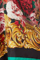 thumbnail of Silk Brocade Floral Midi Dress #3