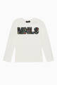 thumbnail of Floral Logo Print Long Sleeved T-Shirt  #0