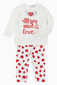 thumbnail of All You Need Is Love Print T-Shirt    #1