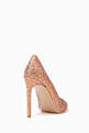 thumbnail of Rio Leopard Lurex Pumps #2