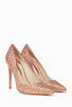 thumbnail of Rio Leopard Lurex Pumps #4