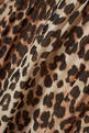 thumbnail of Pleated Leopard Print Georgette Dress   #3