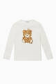 thumbnail of Embroidered Teddy Cotton T-Shirt #0