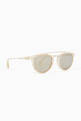 thumbnail of Rollright C25 Acetate Mirrored Sunglasses  #1