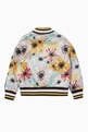 thumbnail of Floral Print Bomber Jacket  #2