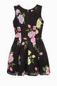 thumbnail of Dahlia Knitted Floral-Print Dress   #0