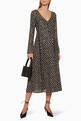 thumbnail of Maca Star Print Long Sleeved Dress   #1