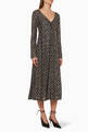 thumbnail of Maca Star Print Long Sleeved Dress   #0