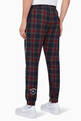 thumbnail of Checkered Script Logo Pants #2
