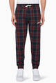 thumbnail of Checkered Script Logo Pants #0