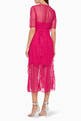 thumbnail of Fuchsia Delight Midi Dress #2
