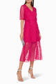 thumbnail of Fuchsia Delight Midi Dress #1