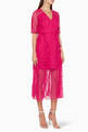 thumbnail of Fuchsia Delight Midi Dress #0