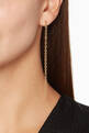 thumbnail of Anaka XL Gold Gravity Chain Earrings      #1
