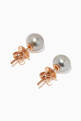thumbnail of Pearl Rose Gold Stud Earrings #2