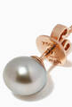 thumbnail of Pearl Rose Gold Stud Earrings #3